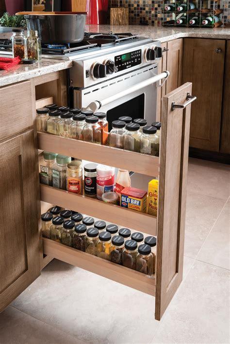 Pull Out Spice Rack Cabinet Kitchen Storage Organizer