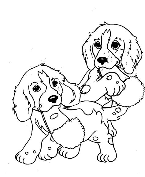 Puppy Coloring Pages Free Cute Sheets to Print Free