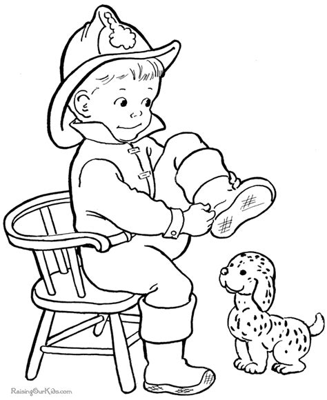 Puppy picture coloring pages Raising Our Kids