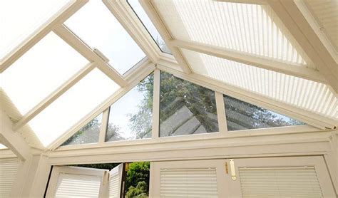 Pure Pleated Blinds for Conservatories