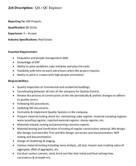 quality control technician duties responsibilities - Controls Technician Job Description