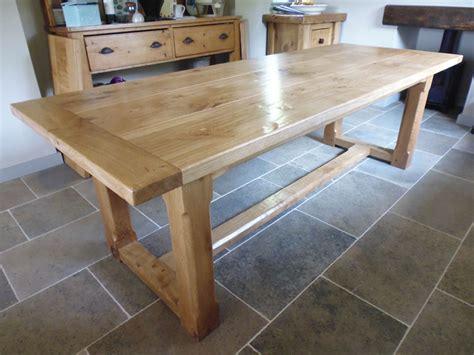 Quercus Furniture Bespoke Handmade Table Oak Refectory