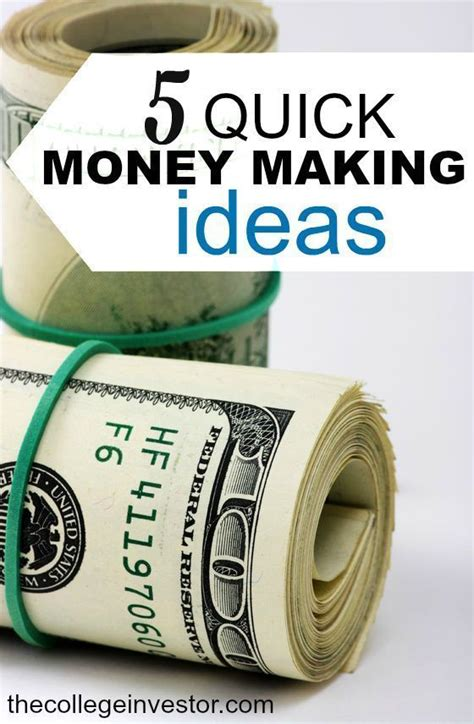 Quick Money Making Ideas