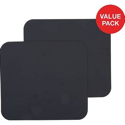 Quill Brand Standard Black Mouse Pad Quill