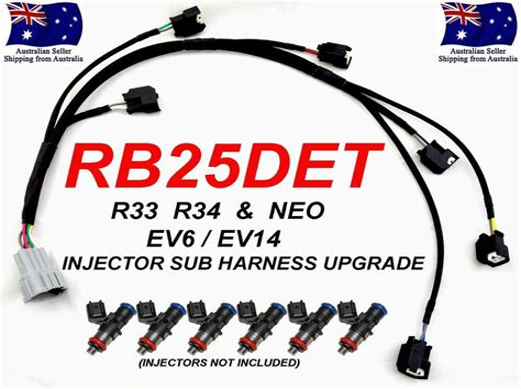 RB25DET Harness eBay