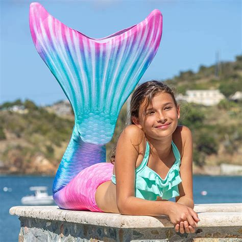 REAL MERMAIDS IN OUR POOL Swimming with Fin Fun tails