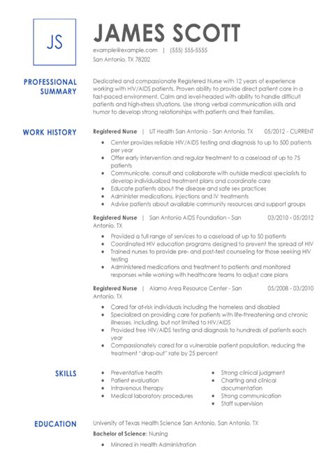 RN Charge Nurse Resume Sample Resume My Career