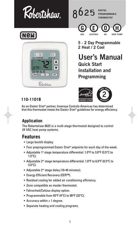 robertshaw 9620 thermostat wiring diagram images robertshaw 8625 user manual pdf