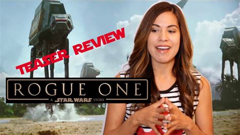 ROGUE ONE A STAR WARS STORY Teaser Preview YouTube