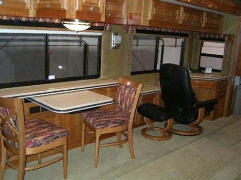 RV Mod One of a Kind RV Dinette Table Do It Yourself RV