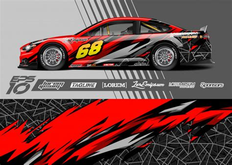 Race Car Templates Race Car Graphics Race Car Wraps