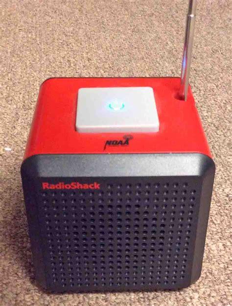 Radio Shack NOAA Weather Alert Radio Cube 12 500 12500