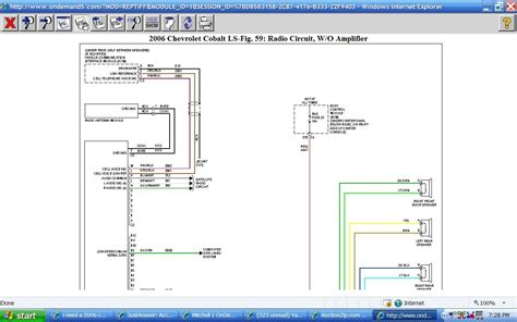 2006 chevy cobalt radio wiring diagram 2006 image 2009 chevy cobalt radio wiring diagram images on 2006 chevy cobalt radio wiring diagram