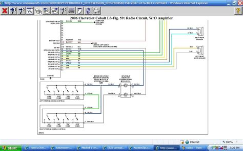 2008 chevy cobalt radio wiring diagram 2008 image 2008 chevy cobalt wiring diagram pdf 2008 image on 2008 chevy cobalt radio wiring