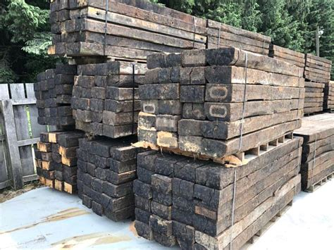 Railway Sleepers at Cheap Prices New Reclaimed Railway