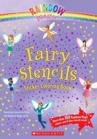 Rainbow Magic Fairy Stencils Sticker Coloring Book
