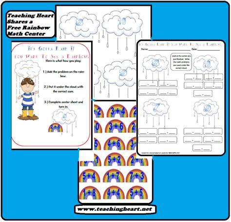 Rainbow Unit Theme Printables lessons ideas more