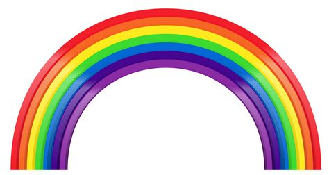 Rainbow clipart Free graphics and pictures of rainbows