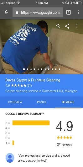 Ranked 1 in Waterford MI Dave s Carpet Cleaning