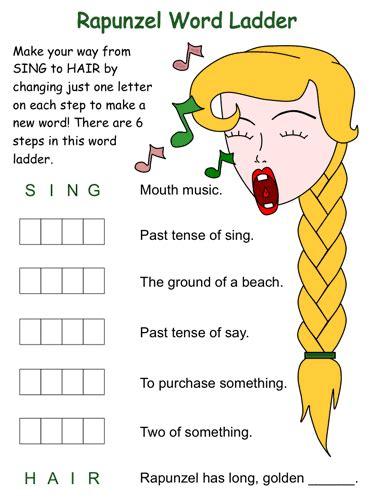 Rapunzle DLTK s Educational Activities for Children