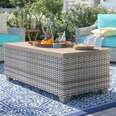 Rattan Wicker Coffee Tables You ll Love Wayfair