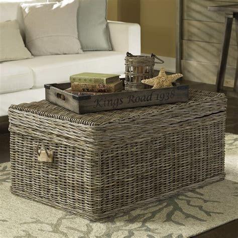 Rattan Wicker Coffee Tables You ll Love Wayfair ca