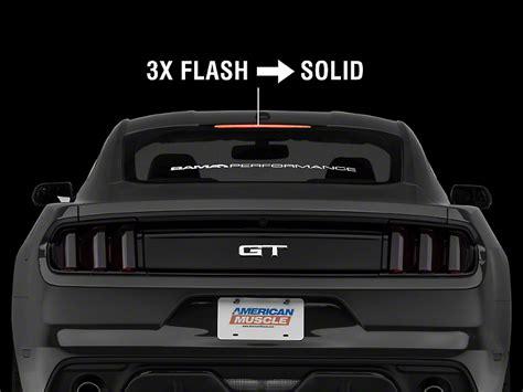 Raxiom 3rd Brake Light Flasher 15 17 All AmericanMuscle