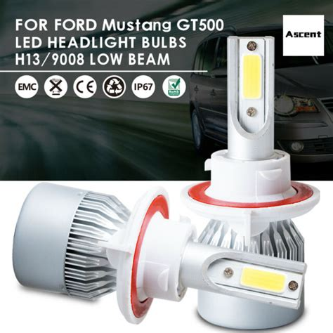 1968 mustang headlight wiring diagram images 1968 mustang wiring raxiom mustang headlight led conversion bulb kit h13