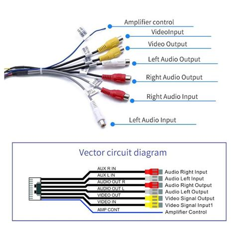 rca audio cable wiring diagram images rca y audio cableon hdmi to rca wire diagram rca wiring diagram and circuit schematic