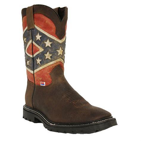 Rebel flag boots Men s Shoes Bizrate