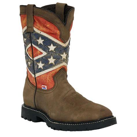 Rebel flag cowboy boots Men s Shoes Bizrate