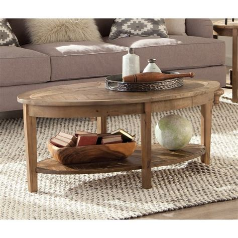 Reclaimed Wood Coffee Sofa End Tables Overstock