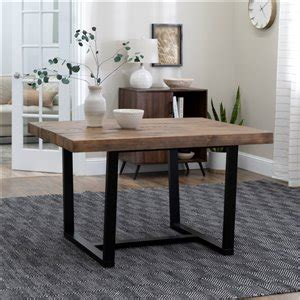 Reclaimed Wood Dining Tables Lowe s Canada