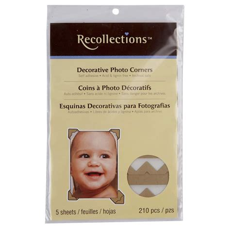 Recollections Color Photo Corners Michaels