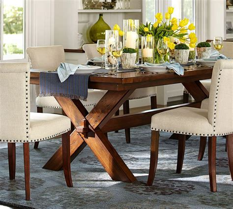 Rectangle Square Dining Tables Pottery Barn
