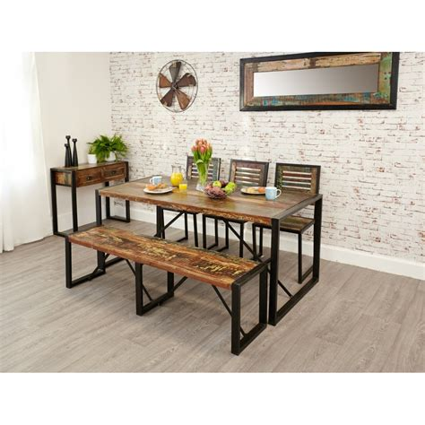 Rectangular Dining Room Tables Reclaimed Wood Furniture