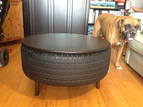 Recycled Tire Coffee Table Instructables