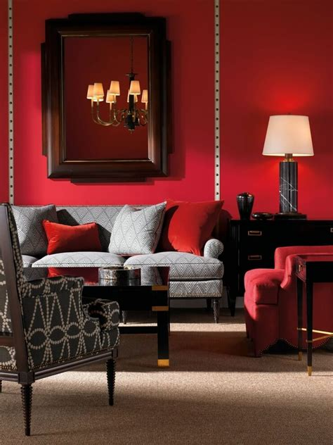 Red Accessories For Living Room