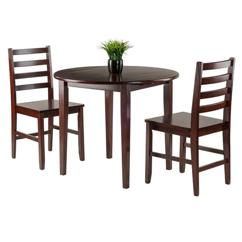 Red Barrel Studio Coleshill 3 Piece Dining Table Set
