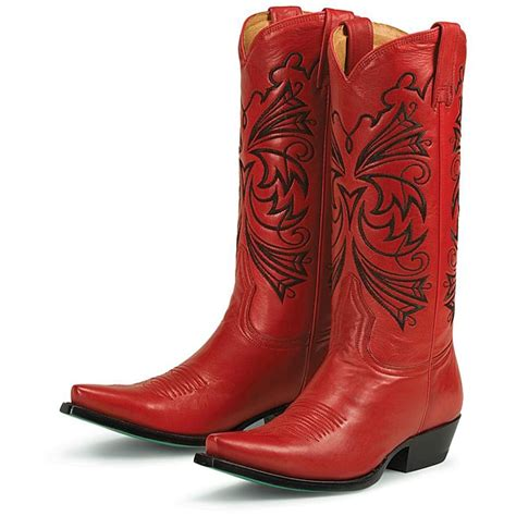 Red Boots Overstock