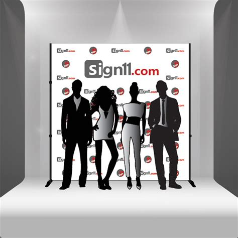 Red Carpet Backdrop 8 x8 Sign11
