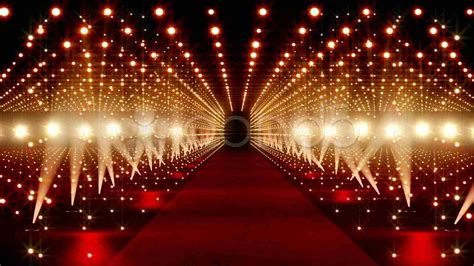 Red Carpet Background Stock Image