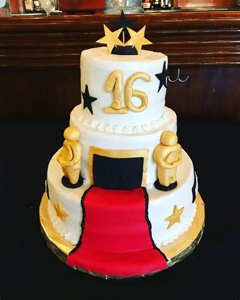 Red Carpet Cakes Custom Cakes Sweets Home