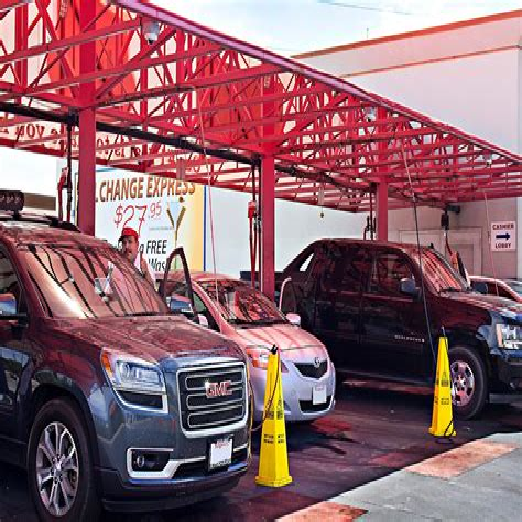 Red Carpet Car Wash Clovis CA Auto Washing Waxing