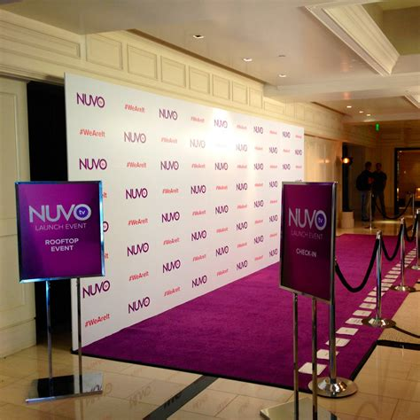 Red Carpet Event Backdrops Step and Repeat Banners