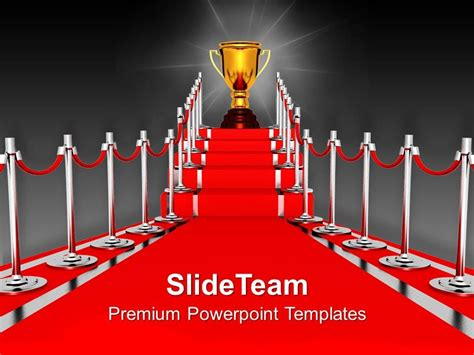 Red Carpet PowerPoint Template