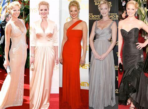 Red Carpet Rewind All of Katherine Heigl s Best Looks E