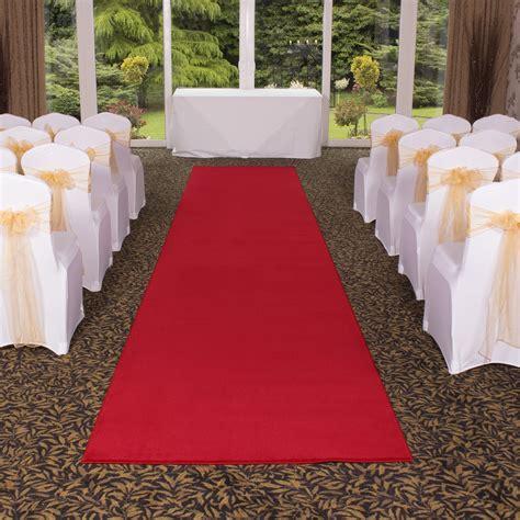 Red Carpet Runners Event Carpet Wedding Aisle Runner