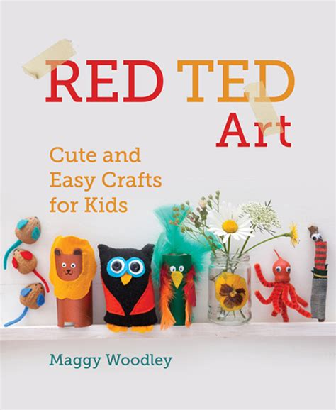 Red Ted Art Easy Crafts for Kids