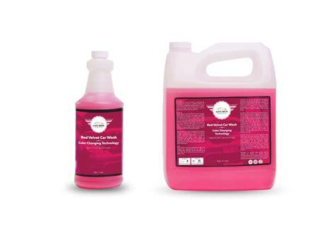 Red Velvet Car Wax Detailing Supplies Car Accessories